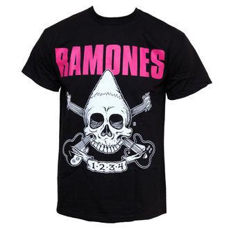 t-shirt metal men's Ramones - Pinhead Skull - BRAVADO - 95222000