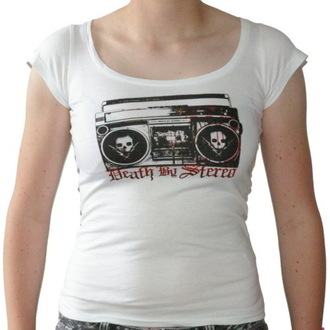 t-shirt metal women's Death by Stereo - Ghettoblaster - RAGEWEAR, RAGEWEAR, Death by Stereo