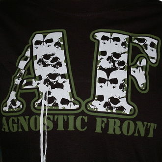 t-shirt metal women's Agnostic Front - Skulls - RAGEWEAR, RAGEWEAR, Agnostic Front