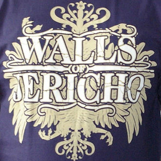 t-shirt metal men's Walls of Jericho - New Crest - RAGEWEAR, RAGEWEAR, Walls of Jericho