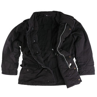 jacket SURPLUS - M65 JACKE WASHED - BLACK - 20-3500-63