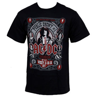 t-shirt metal men's AC-DC - Public Enemy - LIQUID BLUE, LIQUID BLUE, AC-DC