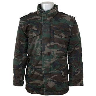 spring/fall jacket men's - M65 JACKE WASHED - SURPLUS, SURPLUS