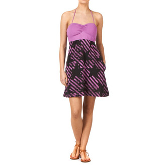 dress women FOX - Stripe Out Dress, FOX