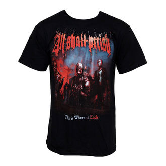 t-shirt metal men's All Shall Perish - Perish Album Cover - Just Say Rock, Just Say Rock, All Shall Perish