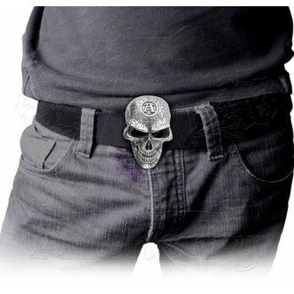 buckle Omega Skull ALCHEMY GOTHIC, ALCHEMY GOTHIC