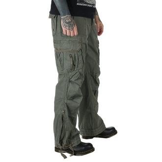 pants men BRANDIT - Royal Vintage Trouser Olive - 1002/1