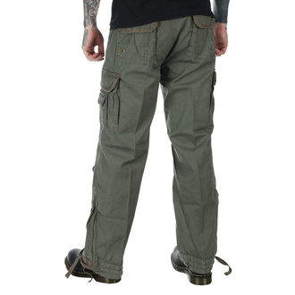 pants men BRANDIT - Royal Vintage Trouser Olive - 1002/1