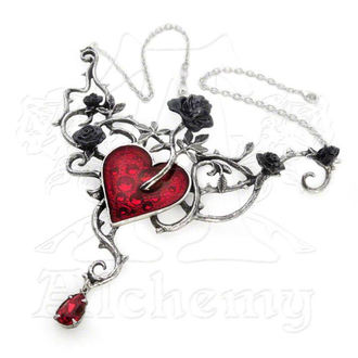 necklace Bed Of Blood-Roses - ALCHEMY GOTHIC - P630