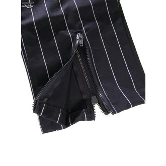 pants women 3/4 Mode Wichtig - Zip Slacks Pin Stripe - M-1-70-050-01