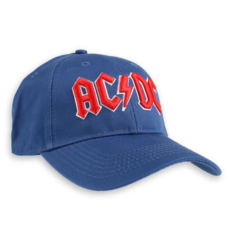 Cap AC / DC - Red Logo Mid-Blue - ROCK OFF - ACDCCAP02MBL
