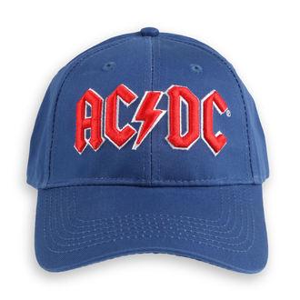 Cap AC / DC - Red Logo Mid-Blue - ROCK OFF, ROCK OFF, AC-DC