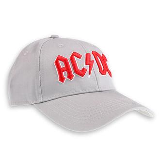 cap AC / DC - Red Logo Grey - ROCK OFF, ROCK OFF, AC-DC