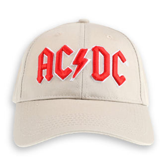 cap AC / DC - Red Logo Sand - ROCK OFF, ROCK OFF, AC-DC