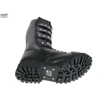 leather boots women's - STEEL - 4P BALLS