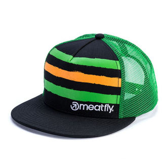 Cap MEATFLY - WALKER B - GREEN / BLACK, MEATFLY