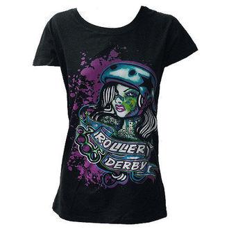 t-shirt women's - Roller Derby - DARKSIDE, DARKSIDE