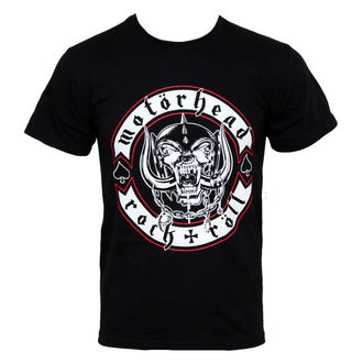 t-shirt metal men's Motörhead - - ROCK OFF - MHEADTEE08MB