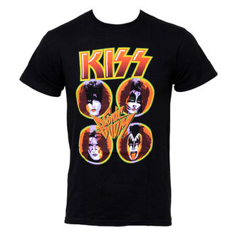 t-shirt metal men's Kiss - Sonic Boom - LIVE NATION, LIVE NATION, Kiss