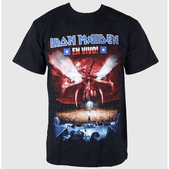 Metal T-Shirt men's Iron Maiden - En Vivo - ROCK OFF - IMTEE16MB