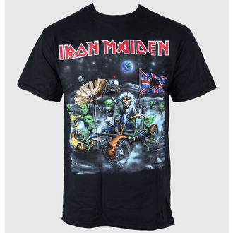 t-shirt metal men's Iron Maiden - Knebworth Moonbuggy - ROCK OFF, ROCK OFF, Iron Maiden