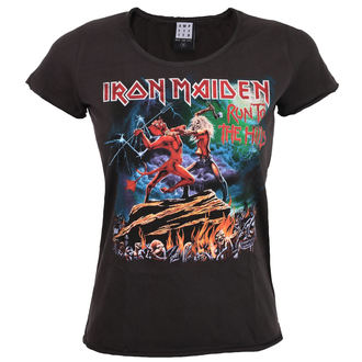 t-shirt metal women's Iron Maiden - RUN TO THE HILLS - AMPLIFIED, AMPLIFIED, Iron Maiden
