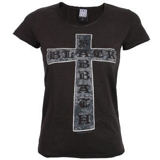 t-shirt metal women's Black Sabbath - CROSS - AMPLIFIED, AMPLIFIED, Black Sabbath