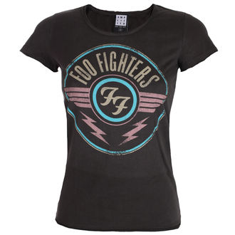 t-shirt metal women's Foo Fighters - CHARCOAL - AMPLIFIED, AMPLIFIED, Foo Fighters