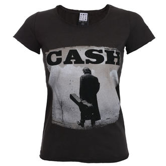 t-shirt metal women's Johnny Cash - WALKING LEGEND - AMPLIFIED, AMPLIFIED, Johnny Cash