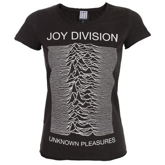 t-shirt metal women's Joy Division - UNKNOWN PLEASURES - AMPLIFIED, AMPLIFIED, Joy Division