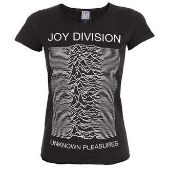t-shirt metal women's Joy Division - UNKNOWN PLEASURES - AMPLIFIED, AMPLIFIED, Joy Division