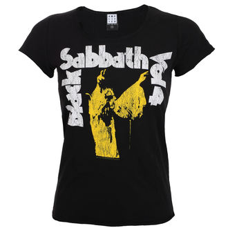 t-shirt metal women's Black Sabbath - BLACK - AMPLIFIED, AMPLIFIED, Black Sabbath