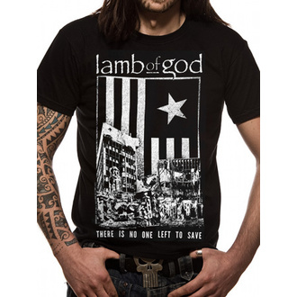 t-shirt metal men's Lamb of God - No One Left -LIVE NATION - LIVE NATION, LIVE NATION, Lamb of God