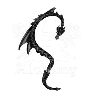 earrings The Dragon's Lure - Black - ALCHEMY GOTHIC, ALCHEMY GOTHIC