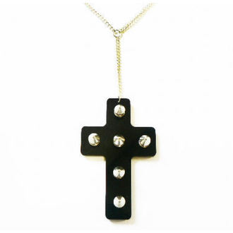 necklace Extreme Largeness - Black Cross