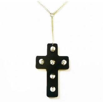 necklace Extreme Largeness - Black Cross, Extreme Largeness