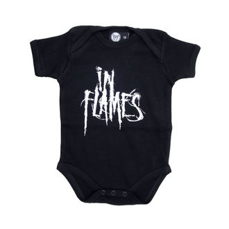 body children's In Flames - Logo - Black, Metal-Kids, In Flames
