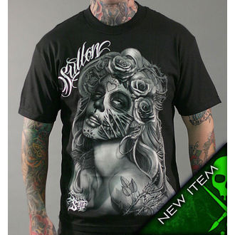 t-shirt hardcore men's - Querida Muerta - SULLEN - SCM0147_BK