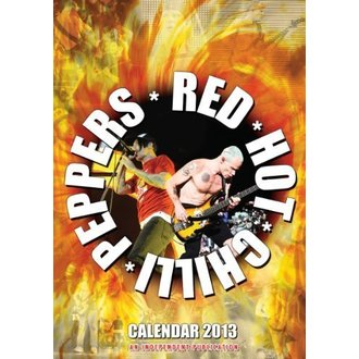 calendar to year 2013 - Red Hot Chili Peppers - DRM-022