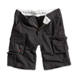 shorts men SURPLUS - Trooper Shorts - Black - 07-5600-63
