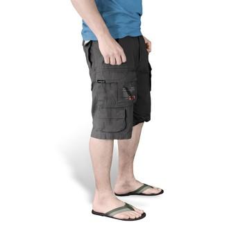 shorts men SURPLUS - Trooper Shorts - Black - 07-5600-63