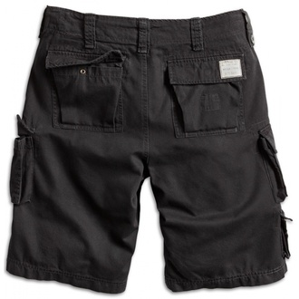 shorts men SURPLUS - Trooper Shorts - Black, SURPLUS
