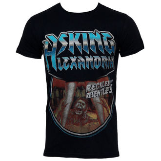 t-shirt metal men's Asking Alexandria - Horror - PLASTIC HEAD, PLASTIC HEAD, Asking Alexandria