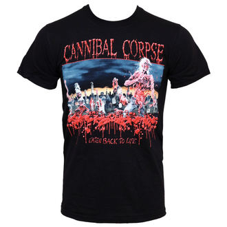 t-shirt metal men's Cannibal Corpse - Eaten Back To Life - PLASTIC HEAD, PLASTIC HEAD, Cannibal Corpse