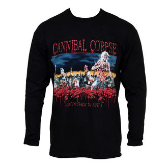 t-shirt men with long sleeve Cannibal Corpse - Eaten Back To Life - PLASTIC HEAD - PH5268