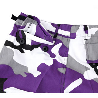 shorts men US BDU - Army - Lila Camo - 20080