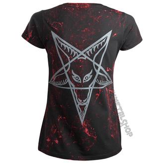 t-shirt hardcore women's - TEAM SATAN - AMENOMEN, AMENOMEN