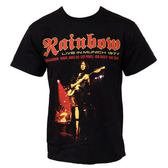 t-shirt metal men's Rainbow - Live In Munich - PLASTIC HEAD, PLASTIC HEAD, Rainbow