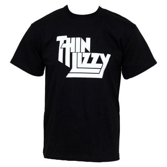 t-shirt metal men's Thin Lizzy - Classic Logo - PLASTIC HEAD - PH5373