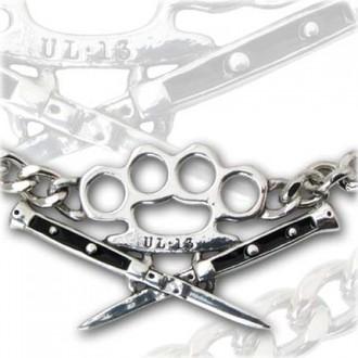 necklace Switchblade Choker - ALCHEMY GOTHIC - ULP31